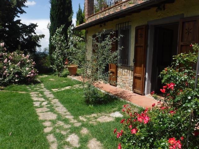 Rooms in the Chianti countryside - Barberino Val D'elsa - Apartamento
