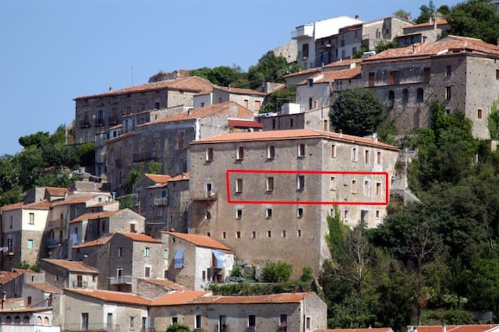 Charming apartment in Cilento - Roccagloriosa