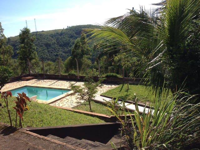 Casa de Campo, temporada e findi - Amparo - Cabaña