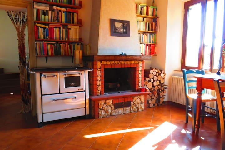 Appartamento nella campagna senese - Vescovado - Daire