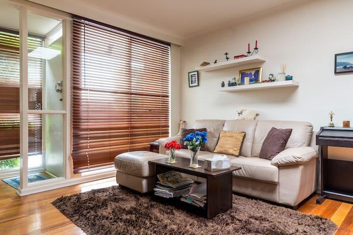 Private Room in Cosy Villa near St Kilda - Caulfield North - Villa