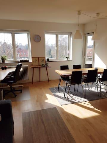 Lovely apartment with balcony - Herlev - Huoneisto