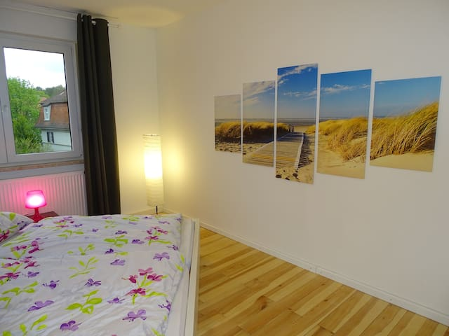 Great city apartment with balcony in a good loc. - Bamberg - Lägenhet
