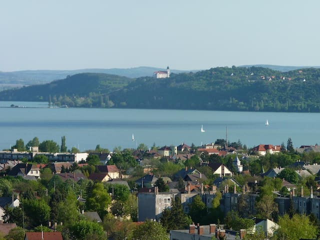 Beautiful panoramic apartment - Balatonfüred - Apartamento