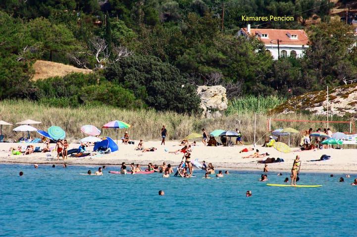 Kamares Guesthouse - Messakti Beach - Gialiskari