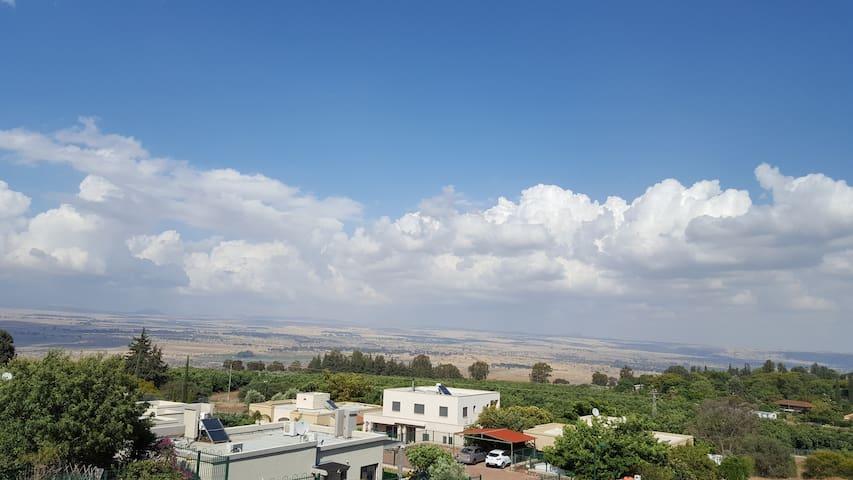 THE PEACEFUL PLACE - Kfar HaNassi - アパート