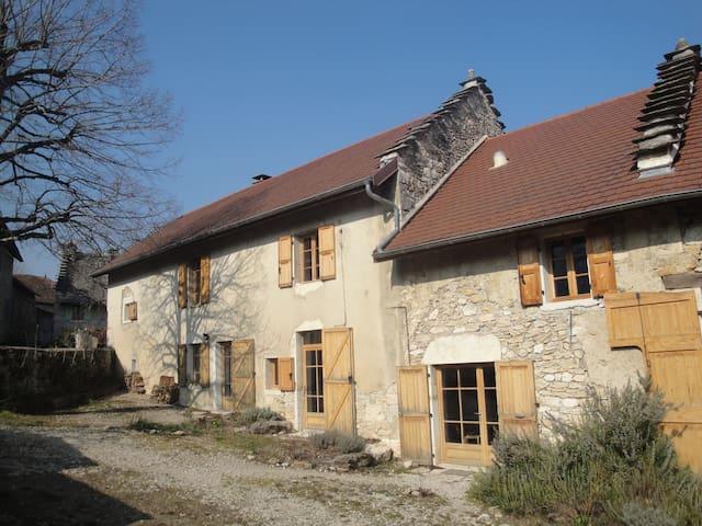 Eco gîte du Saint Baudille - Saint-Bois - Arazi Evi