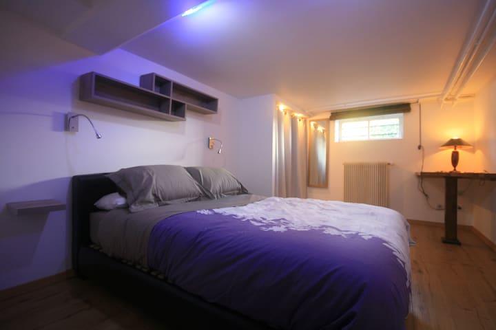 L'Escale - 2 pièces de 35 m² - Bischwiller - Bed & Breakfast