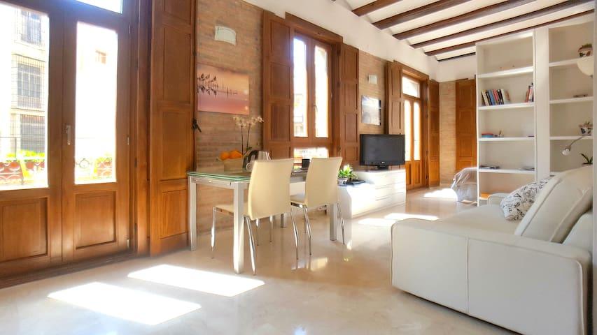 Charming loft in Plaza Redonda -1 - Valencia - Daire