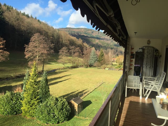 Black Forest Apartment - Bad Herrenalb - Appartement