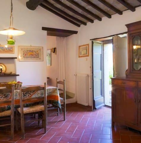 Maison en pierre dans petit hameau - Province of Arezzo - Maison