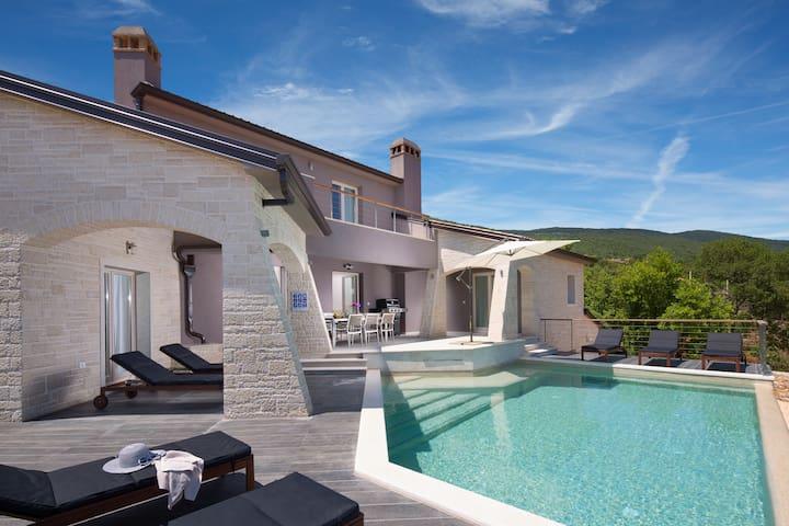 Villa Vosilla - Labin - Huis