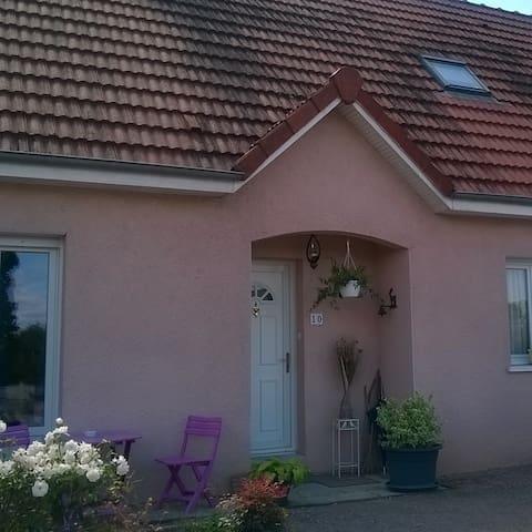 2 Chambres individuelles au calme - Gueugnon - Huis