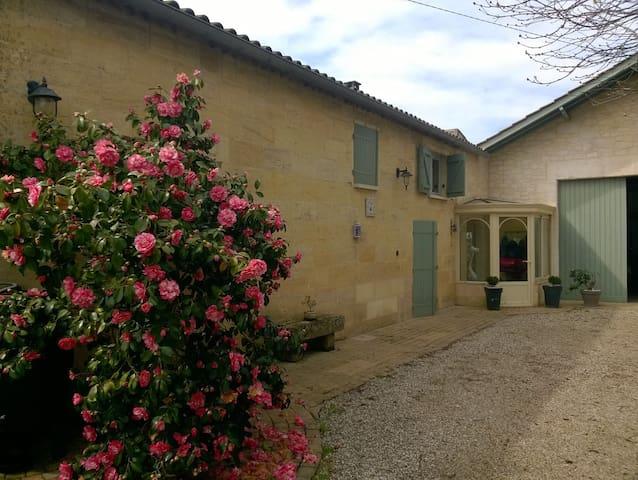 Bedrooms 9 kms from St Emilion - Saint-Magne-de-Castillon