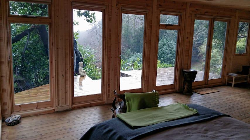 Bright, spacious cabin with sun deck. Great view. - Hindhead - Apartament