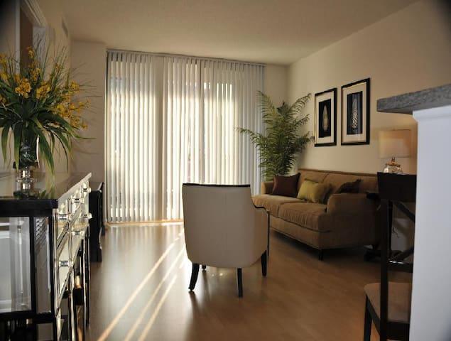 """Exquisite"" Elegantly Appointed - North Bethesda - Apartamento"