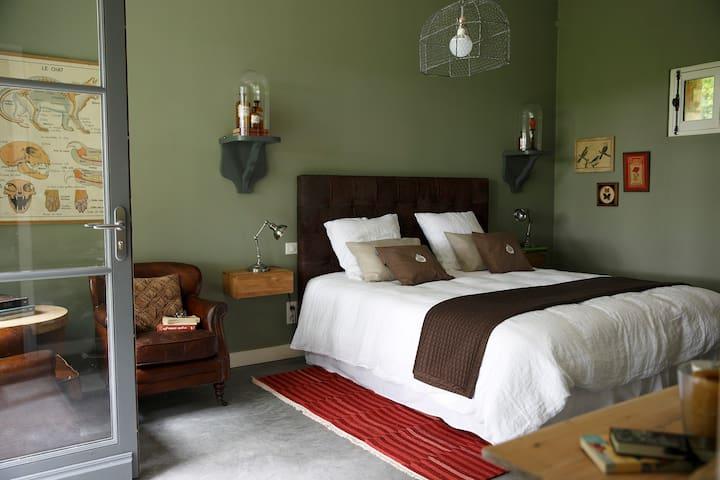 UN MATIN DANS LES BOIS Chambre 2 - Loison-sur-Créquoise - Bed & Breakfast