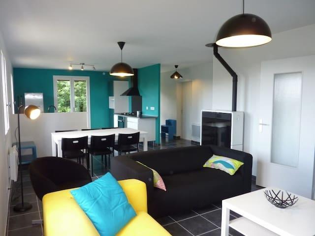 Maison au calme, à la campagne - Saint-Bonnet-le-Bourg