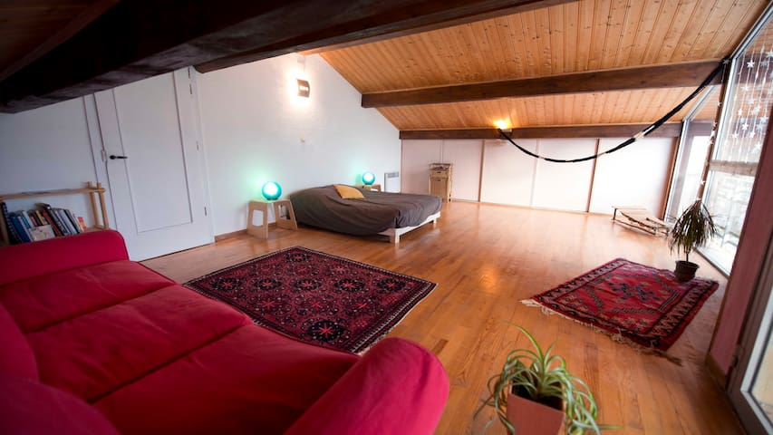 Maison au coeur de la Nature à 10 min de Bernex - Féternes - Huis