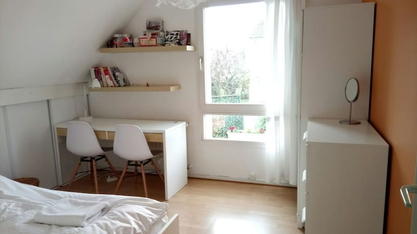 Chambre blanche à Colmar - Colmar - Rumah