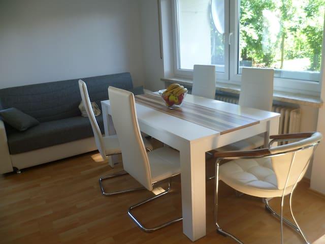 двухкомнатная квартира - Jettingen-Scheppach - Appartement