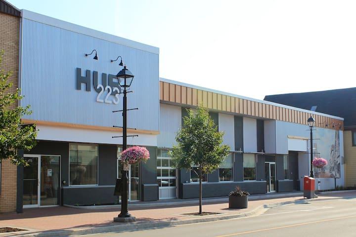 Downtown HUB223 Modern Studio Micro-Suite - Summerside - Departamento