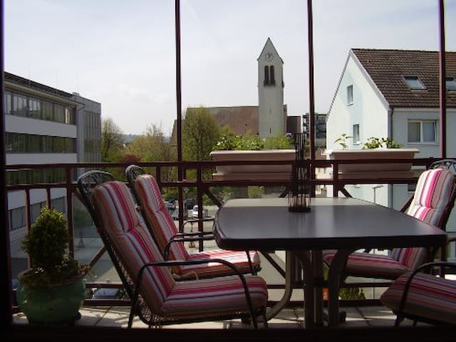 Schöne und zentral gelegene Wohnung in Rheinfelden - Rheinfelden (Baden) - Leilighet