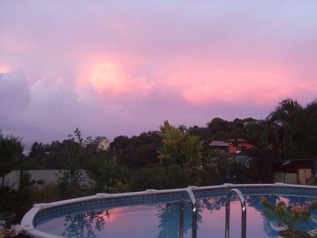 suite villa in papeete,guestroom - Papeete - Hus