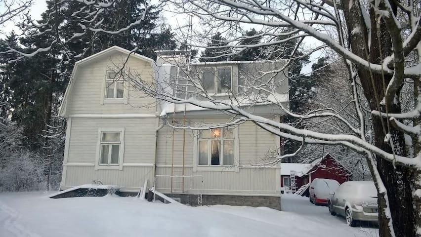 Atmosphere and vegetarian food - Helsinki - Huis