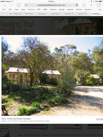 Riesling Trail and Clare Valley Cottages - Clare - Pousada
