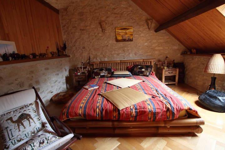 Belle suite familiale en Vexin - Brueil-en-Vexin - Bed & Breakfast