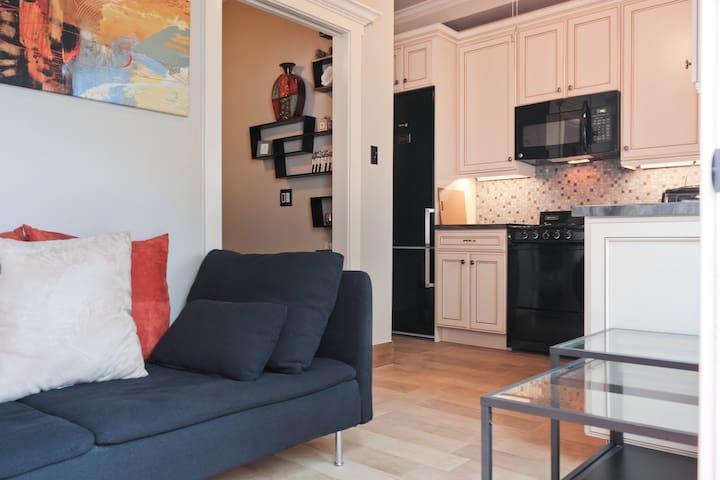 Comfy European Styled Apartment - Long Beach - Leilighet