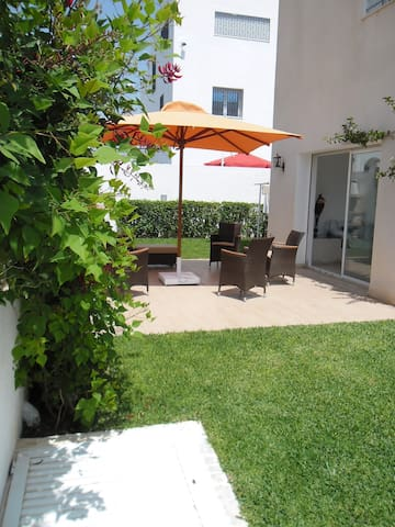 Coquette villa,piscine, jardin à 10min de la plage - Hammamet Sud - Vila
