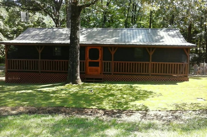 Luxury Cabin close to Grenada Lake Reservoir, MS - Coffeeville
