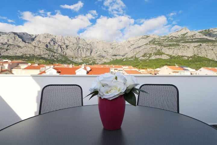 New studio/terracce/great price!! Value 4 Money! - Makarska - Daire