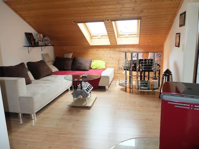 Allgäu - Schöne Dachgeschosswohnung - Haldenwang nahe Kempten/Allgäu Allgäu
