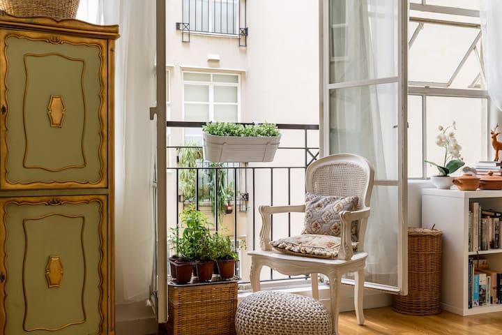 Paris style apartment in the CBD - Melbourne - Departamento