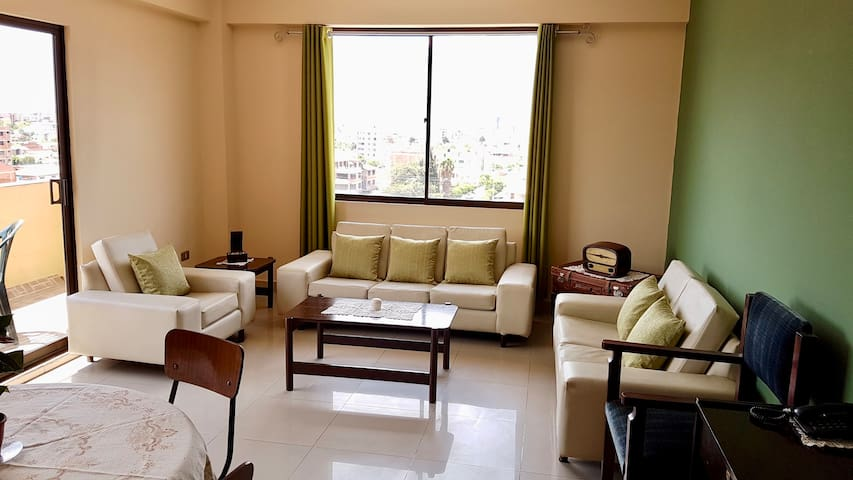 Cozy apartment with panoramic views - Cochabamba - Wohnung