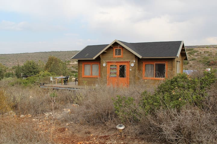Finish wood cabin in Israel nature - Klil - Kabin