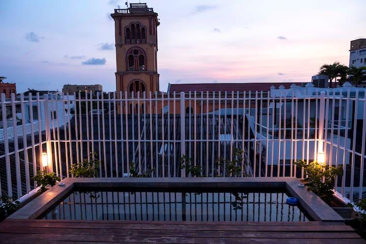 Hidden Gem in the Heart of the Walled City - Cartagena - Wohnung