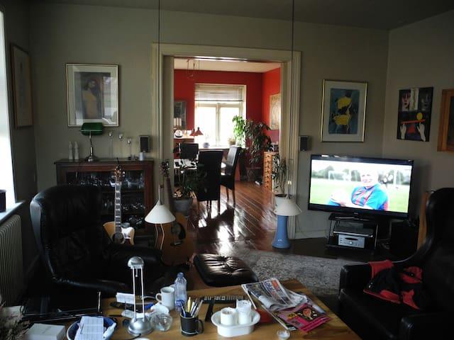 Min stue/living room/midt i centrum - Aabenraa - Hus