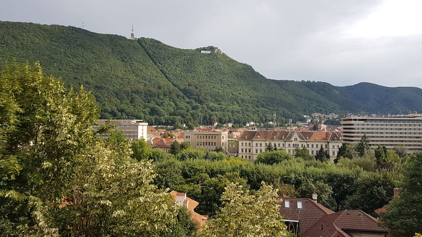 modern studio with great view in the center - Brașov - Daire