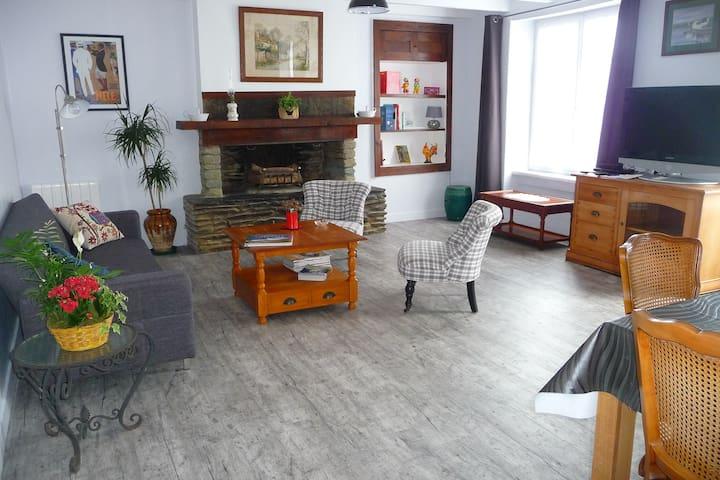 jolie petite maison avec jardin - Équeurdreville-Hainneville - Talo