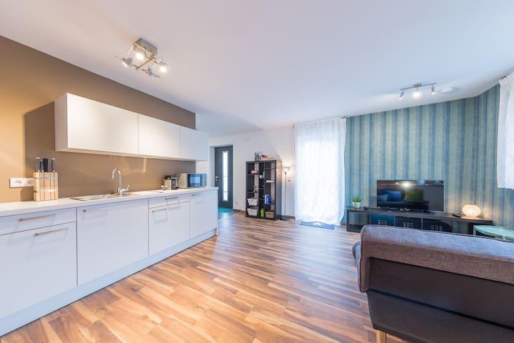Apartment Kirchheim - 2,5 Zimmer, Zentral, Modern - Kirchheim unter Teck - Lyxvåning