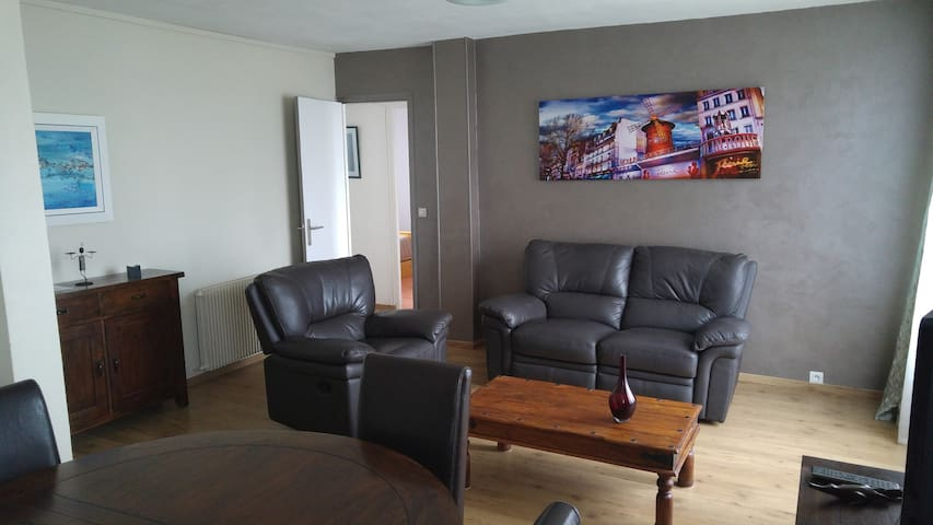 Rouen Appartement 65m2 - 2 chambres parking facile - Le Petit-Quevilly - Appartement