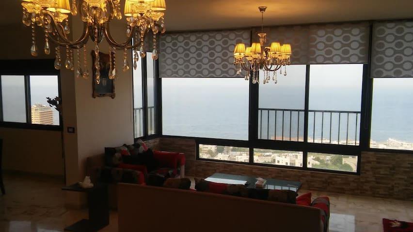 Luxury full Sea view condo near Jounieh in Safra - Jounieh - 公寓