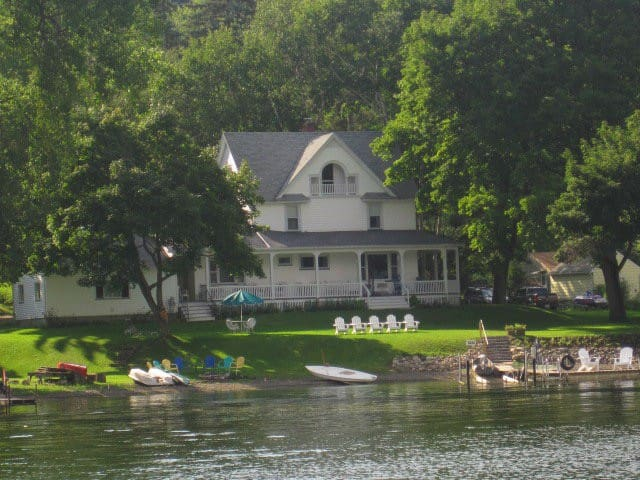 Historic 1880s Cottage on Conesus Lake - Conesus - Casa