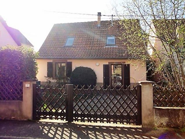Maison proche route des vins - Gresswiller - Huis