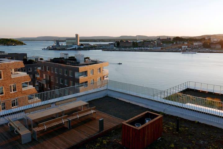 Oslo seaside apartment with 5 bikes - Oslo - Departamento