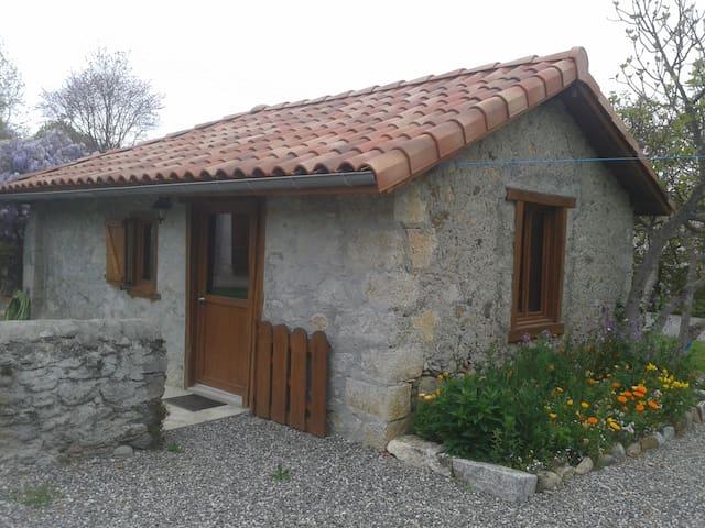 Charmante maisonnette pyrénéenne - Ardiège - Huis